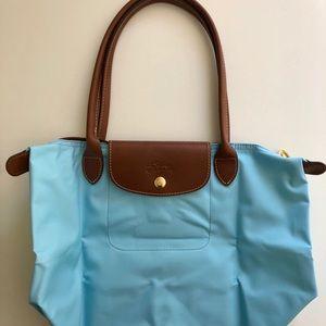 Longchamp Le Pliage Medium Blue